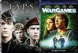 Taps & War Games DVD Set double feature bundle 80's movie set 2-pack