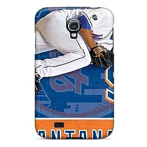 EricHowe Samsung Galaxy S4 Shock-Absorbing Hard Cell-phone Case Customized Vivid New York Mets Skin [xuy583MrBL]