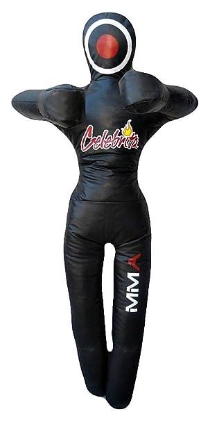 stehend Celebrita MMA Boxsack Grappling Dummy die H/ände auf der Brust