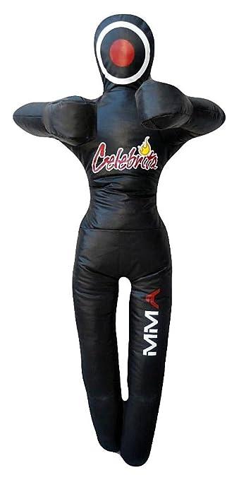 3 opinioni per Celebrita MMA Punching Bag Grappling Dummy- In piedi- le mani sul petto