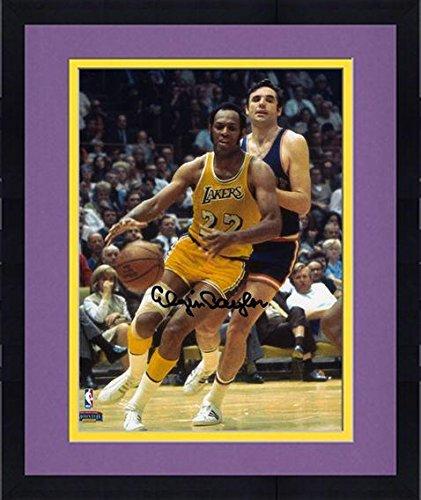 Framed Elgin Baylor Los Angeles Lakers Elgin Autographed 8' x 10' Yellow Uniform Photograph - Fanatics Authentic Certified