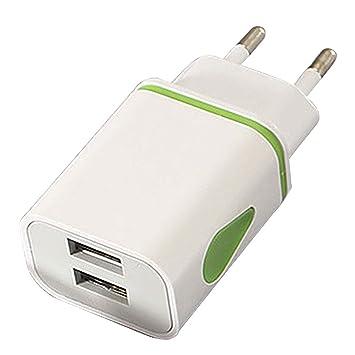 ZENUTA 5V 2.1A Puerto Dual USB Montaje en Pared Gota de Agua ...