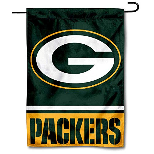 WinCraft Green Bay Packers Double Sided Garden -