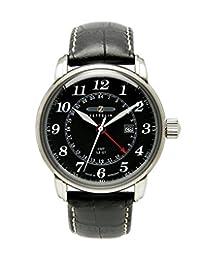 Graf Zeppelin Dual Time, GMT Watch 7642-2