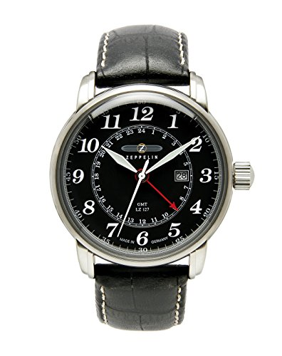 Graf Zeppelin Dual Time, GMT Watch 7642-2