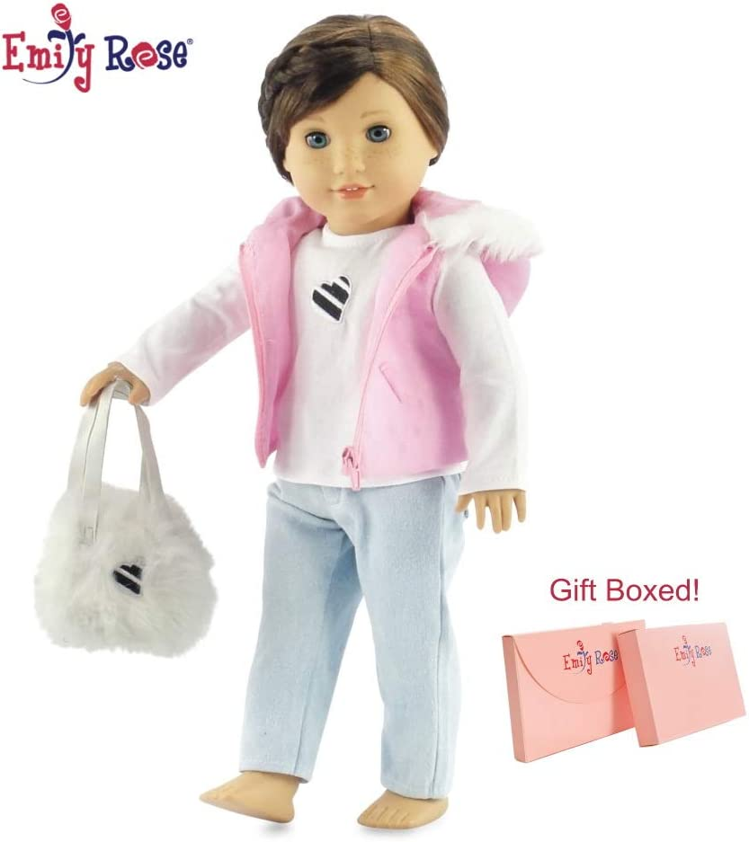 """For Our Generation American Girl Journey Gotz 18/"""" Dolls Clothes Blue Carry Bag"""