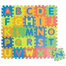 EDUSHAPE EDU-706256 - Mini Edu Tiles - Letters - Set of 26 Toy