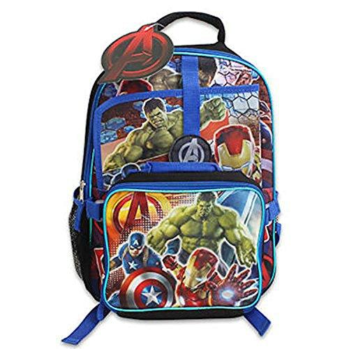 Kid's Backpack - Avengers Children's School Backpack & Lunch Box (Avengers Children)