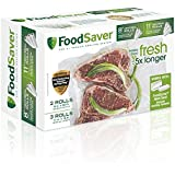 """FoodSaver 8"""" and 11"""" Vacuum Seal Rolls with BPA-Free Multilayer Construction for Food Preservation, Multipack"""