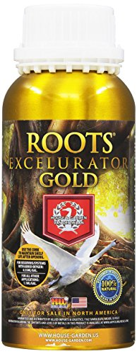(House & Garden HGRXL005 Roots GOLD Excelurator Fertilizer, 500 ml)