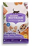 Rachael Ray Nutrish Longevity Natural Dry Cat Food, Chicken With Chickpeas & Salmon Recipe, 3 Lbs For Sale