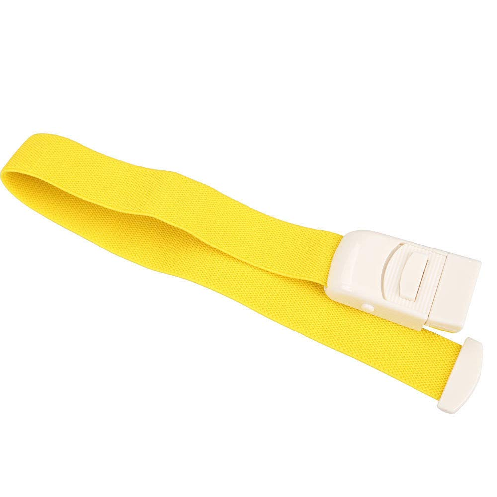 Gotian Flexible Emergency Tourniquet Buckle Quick Slow Release Medical Paramedic Outdoor (Yellow)