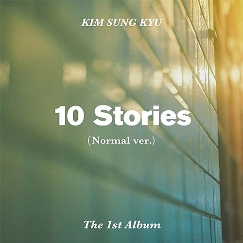 KIM SUNG KYU [10 STORIES] 1st Album Normal Ver+Photo Book+Photo Card+Special Post Card K-POP SEALED