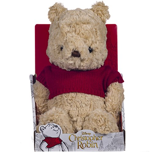 Posh Paws 37465 Christopher Robin Collection Winnie the Pooh Plush Soft Toy ()