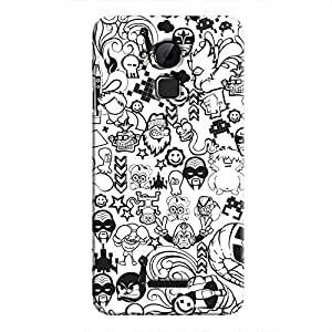 Cover It Up - B&W Stickers Coolpad Note 3Hard Case