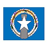 """ChunLei Flag Of The Northern Mariana Islands Poster Artwork Paintings Art Prints Home Decor Movie Wall Sticker 16"""" X 20"""""""