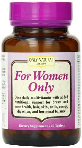 Only Natural for Women Only, 30-Count