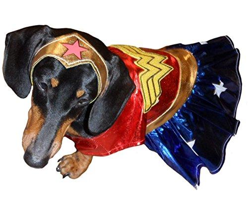 Rubies Wonder Woman Pet Costume [887842] (Medium) (Wonder Woman Dog Costume)