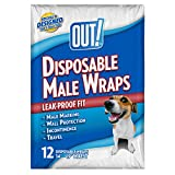 OUT! 12 Count Disposable Male Wraps