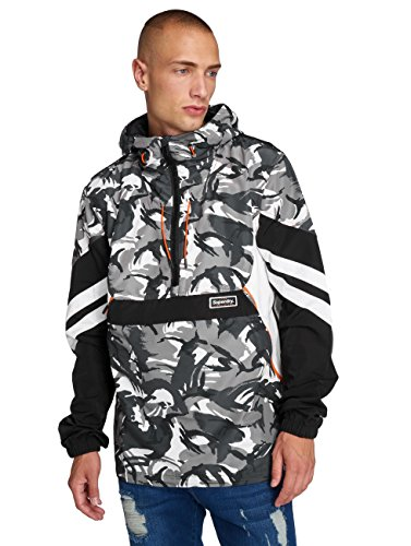 Mezza Superdry giacca Giacche Stagione Overhead Uomo Jared twO6Eqntr