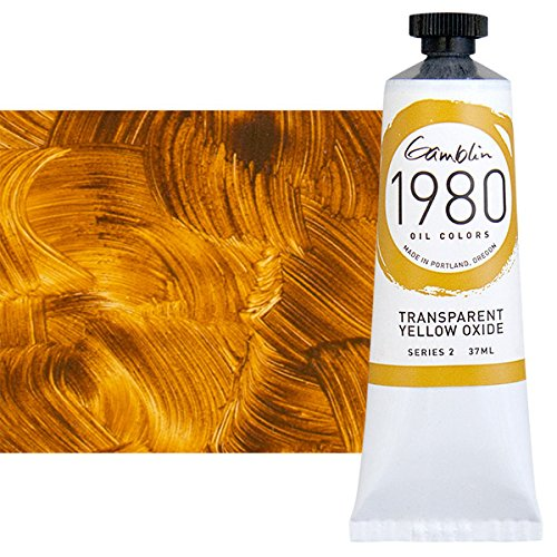 (Gamblin 1980 Oil Trans Yellow Oxide 37Ml)