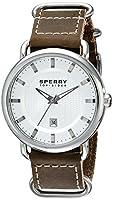 Sperry Top-Sider Men's 10008959 Striper Analog Display Japanese Quartz Brown Watch from Sperry Top-Sider Watches MFG Code