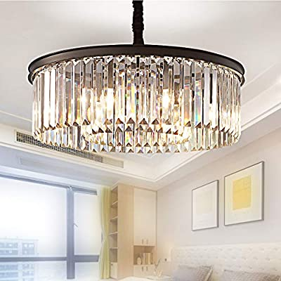 Meelighting Modern Contemporary Crystal Chandeliers Ceiling Lights KIT3