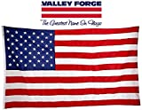 Valley Forge, American Flag, Nylon PERMA-NYL, 6' x 10', 100% Made in USA, Commercial Grade US American Flag