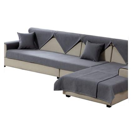 Universal Fabric Sofa Cushioning, Four Seasons Simple Modern Sofa Towel,  Nordic Non Slip