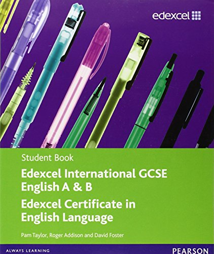Edexcel Igcse English for Specifications A and B. Student Book (Edexcel International GCSE)