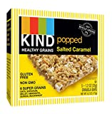 KIND Healthy Grains Popped Salted Caramel Bars, 5 Count