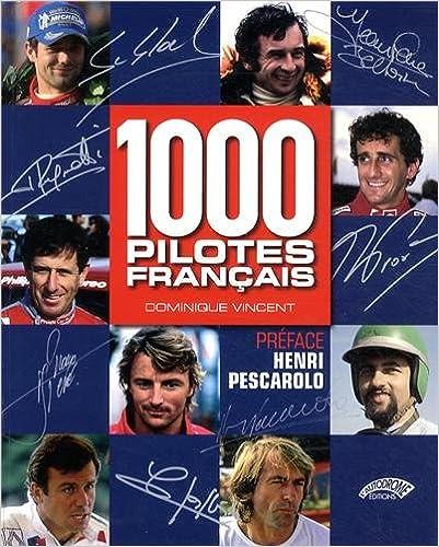 Book 1000 PILOTES FRANCAIS