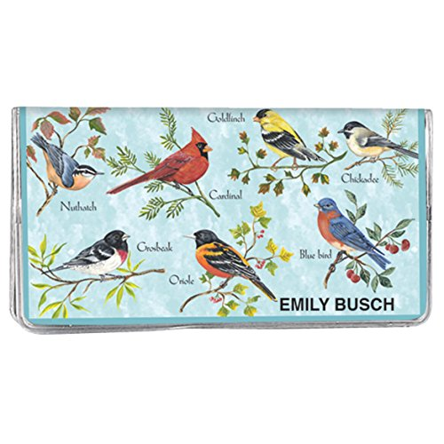 - Personalized Songbirds Two Year Planner - Pocket Sized Calendar Ideal for Purses, Briefcases, or Backpacks - 6 ¾ inches x 3 5/8 inches