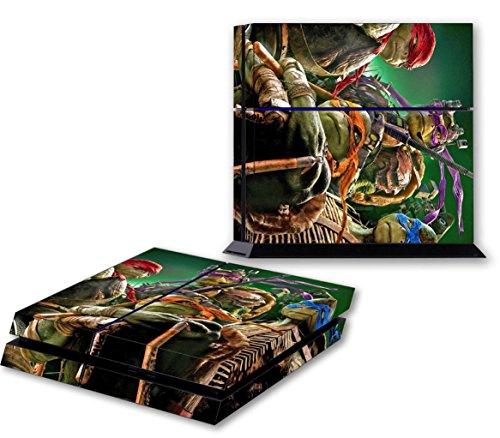 NINJA TURTLES PS4 Skin Vinyl Decal PlayStation 4 Console Sticker TMNT 078 (Ninja Turtles Ps4 compare prices)