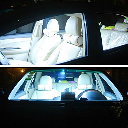 happy hours super bright 2 pcs 9w white color led car interior dome lights bulb panel tail box. Black Bedroom Furniture Sets. Home Design Ideas