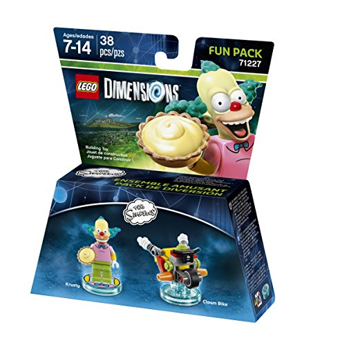 LEGO Dimensions, Simpsons Krusty Fun Pack JungleDealsBlog.com