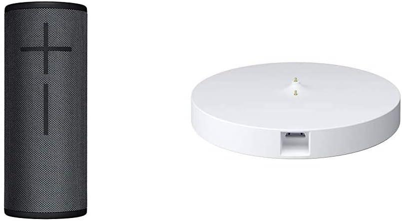 Ultimate Ears Boom 3 Bluetooth Lautsprecher Wasserdichter 360 Sound Mitternachtsschwarz Power Up Ladestation Audio Hifi