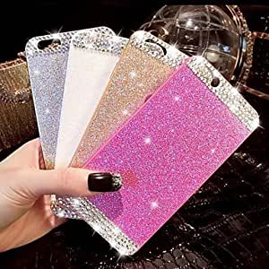 DD Glitter Case with Diamond for iPhone 6 (Assorted Colors) , Black