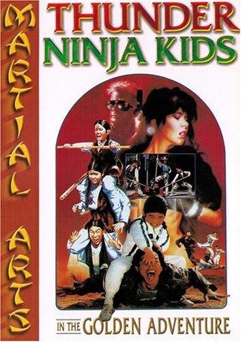 Thunder Ninja Kids : In The Golden Adventures: Amazon.es ...
