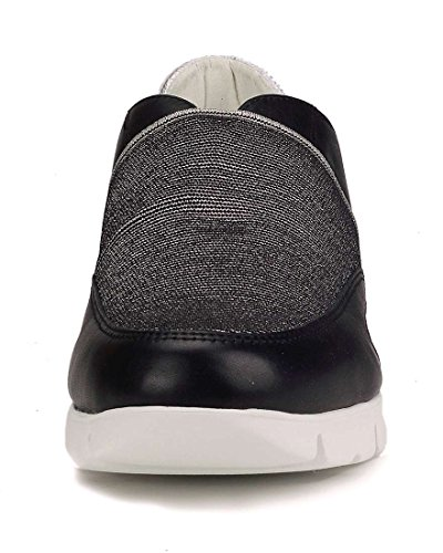 Noir Femme The Sneaker Move Elastic Flexx 4APq6HX