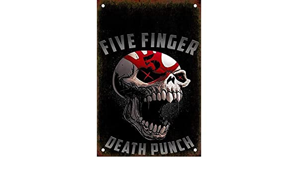 Amazon.com: BinLtd Five Finger Death Punch Wall Painting ...