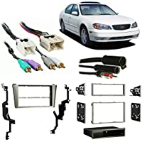 Fits Infiniti I35 2002-2004 Multi-DIN Stereo Harness Radio Install Dash Kit