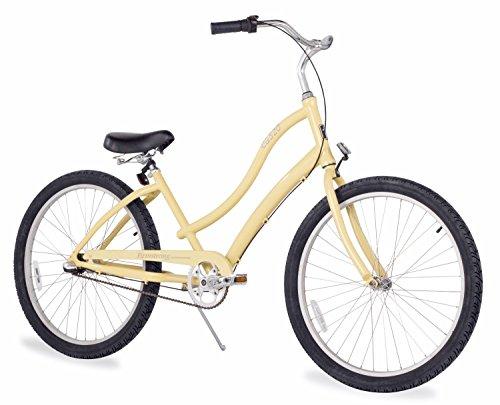 Firmstrong Women's CA-520 Alloy 3-Speed Beach Cruiser Bicycl