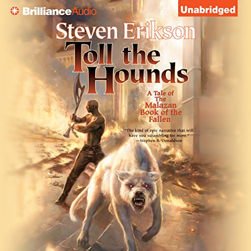 Toll the Hounds Audiobook [Free Download by Trial] thumbnail