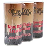 Office Snax 00020G Reclosable Powdered Non-Dairy Creamer, 12 oz Canister, 3/Pack