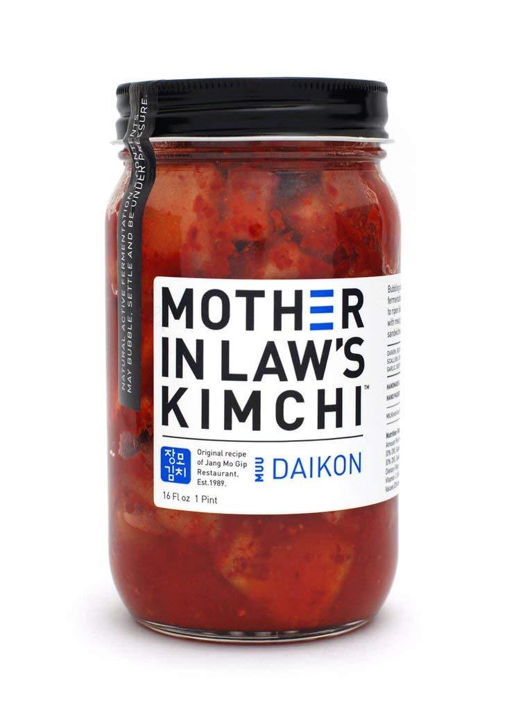 Mother In Law's Kimchi - Daikon Radish, MUU 16 Fl Oz | Pack of 6