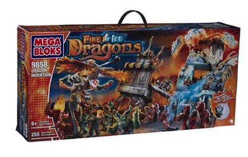 Mega Bloks Fire Ice Dragon Mountain (9858) [並行輸入品]   B077XY77R2