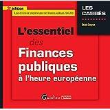 L'essentiel des finances publiques à l'heure européenne