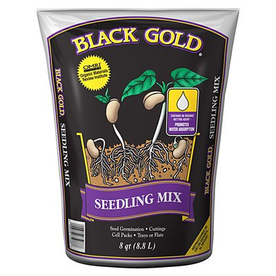 - Black Gold 1411002.Q08P 8 Quart Seedling Mix