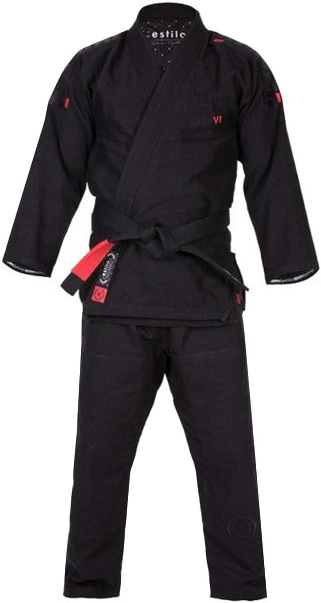 Tatami Estilo 6.0 BJJ Gi Black /& Orange Premium Jiu-Jitsu Uniform Mens Suit 6